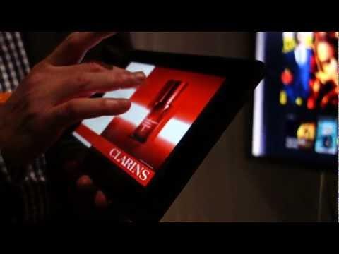 "Kindle Fire HD 8.9"" magazine-demo at Amazon press conference 9/6/12"