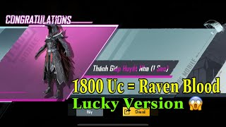 Get Raven Blood With 1800 Uc Only - Super Lucky In The VNG Version 😱