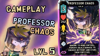 Gameplay Professor Chaos Lvl 5 | South Park Phone Destroyer