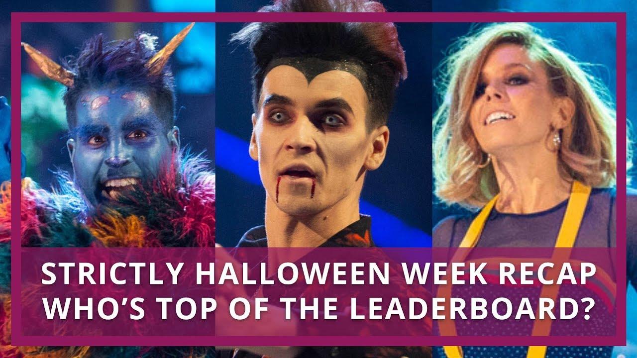 Strictly 2018 Halloween Week Recap & Leaderboard