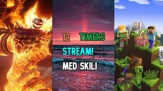 12 Timer stream   World Of Warcraft og Minecraft [Danish]