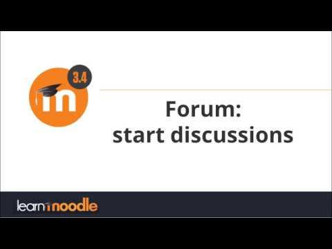 Forum: Moodle 3.4