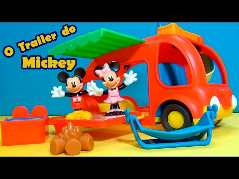 Trailer do Mickey Mouse e da Minnie Mouse - MICKEY MOUSE TRAILER -  Super Trailer !!