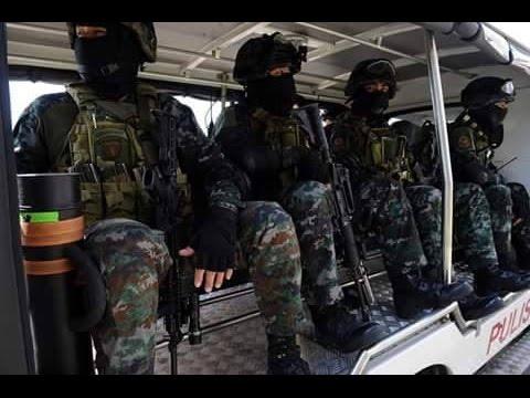 Philippine Security Forces APEC 2015 in Manila Philippines