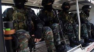 Philippine Security Forces APEC in Manila Philippines