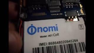 Nomi i401 Colt замена дисплея и тача. Ремонт на грани целесообразности