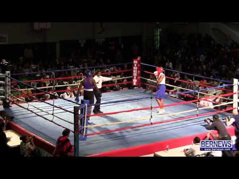 Trey Simons vs Corey Boyce At Fight Night 15, Feb 2 2013
