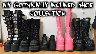 Gothically Inclined Shoe Collection Video
