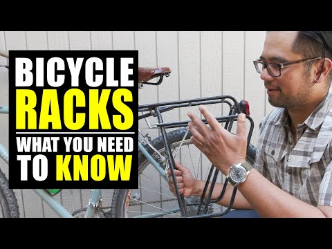Bike Racks - How To Choose The Right Rack #RackPacking