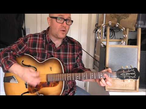 Streamline Train - Skiffle - Ken Colyer / Vipers Skiffle Group cover - Jez Quayle