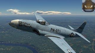 War Thunder SIM - F9F-8 & F80  -  Enduring Confrontation