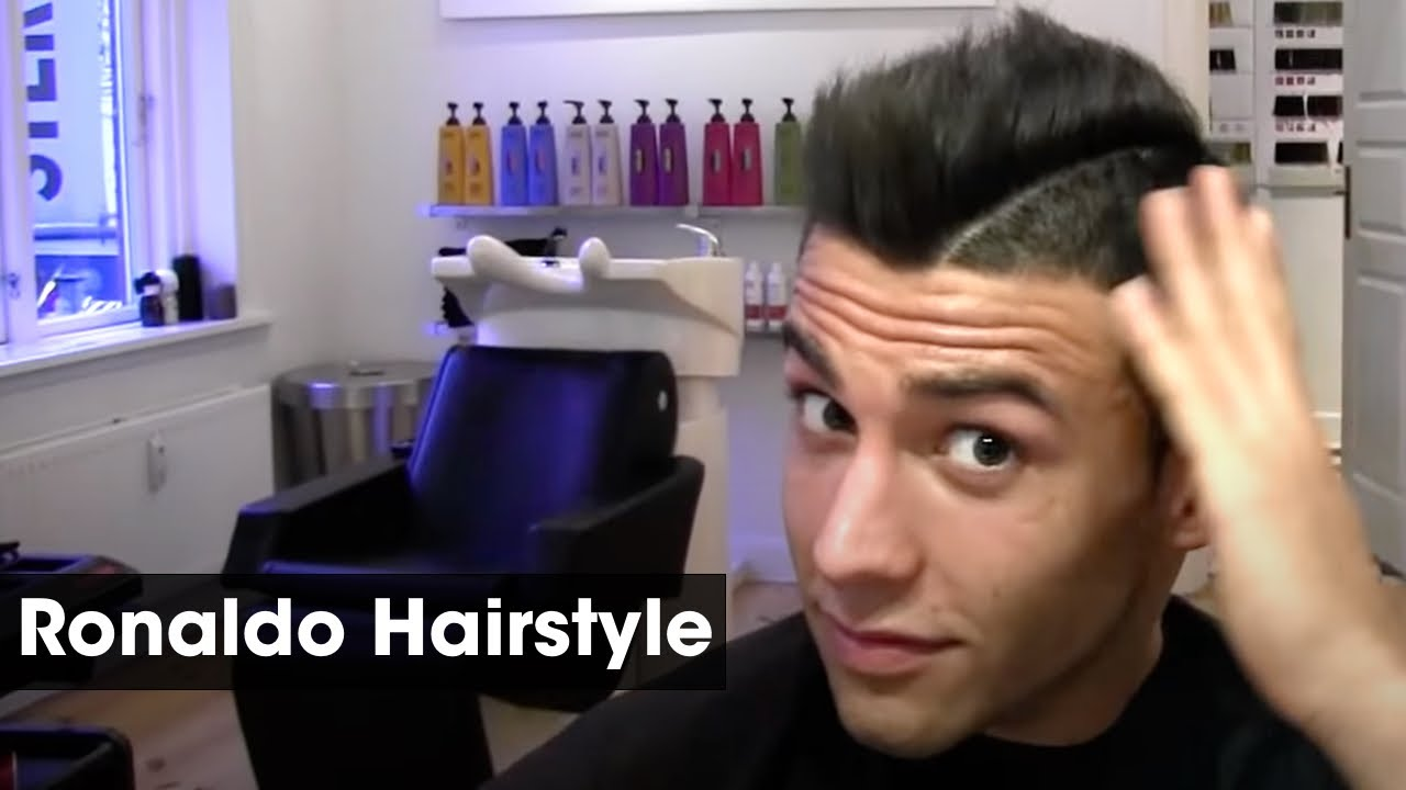 Cristiano Ronaldo Inspired Haircut Tutorial | How To Style & Cut A ...