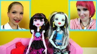 Видео для девочек #МонстерХай: игры МАКИЯЖ с приложением MakeUp! Обзор от #ЛучшаяподружкаСвета