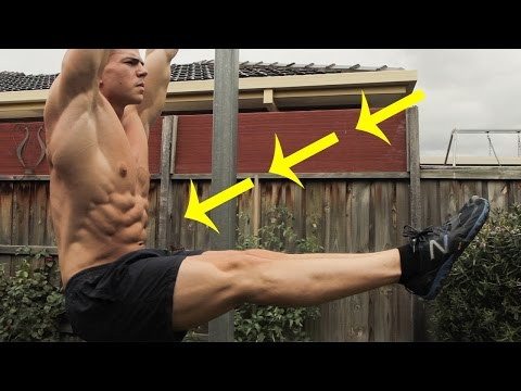 Quick Ab Workout You Should Try (Easy-Hard)