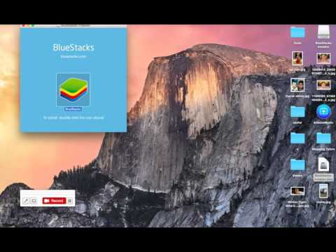 How To Install Bluestacks Offline Installer On Mac OS X PC EI Capitan 10.11