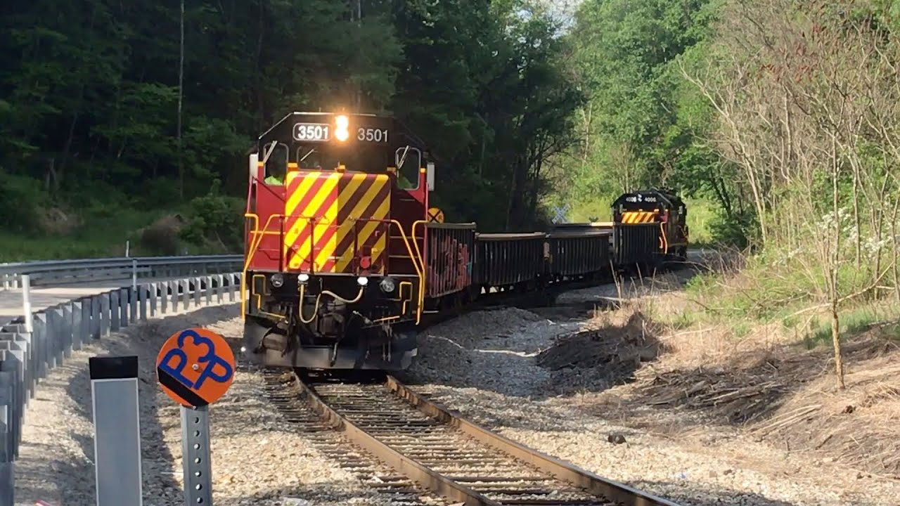 Big SWP 3501 Chase Through The Hills Of South Western PA
