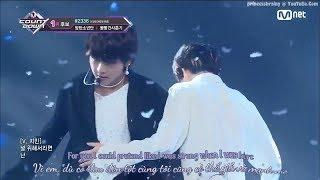 [ENGSUB + VIETSUB] BTS - FAKE LOVE @ KPOP TV Show | M COUNTDOWN 180607