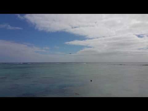 Jet blast rarotonga Cook Islands