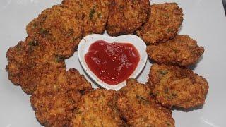 Gobi Cutlet / Cauliflower vada/vadai / Gobi Vadai / Cauliflower Cutlet - Indian Snack