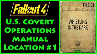Fallout 4 - U.S. Covert Operations Manual - Lexington Switchboard - 4K Ultra HD