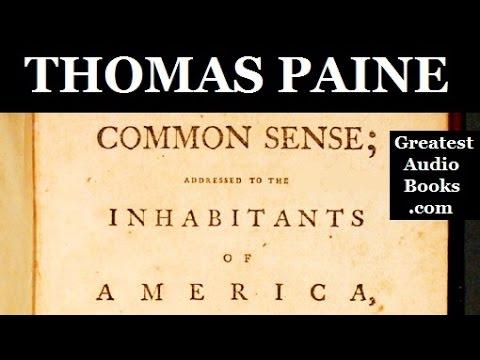 COMMON SENSE by Thomas Paine - FULL AudioBook | GreatestAudioBooks.com V3