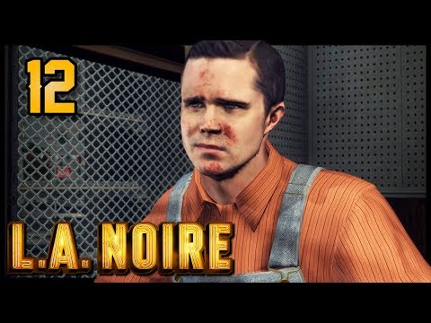 Let's Play L.A. Noire Part 12 - Studio Secretary Murder [Complete Edition PC Gameplay]