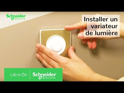 Comment installer un variateur la place d un for Installer un va et vient