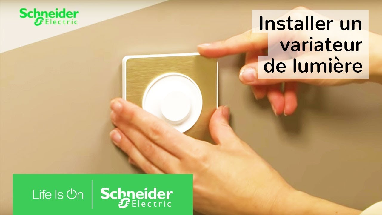tuto installer un variateur de lumi re au lieu d un. Black Bedroom Furniture Sets. Home Design Ideas