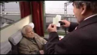 Marian Opania i Krzysztof Kowalewski w akcji pt.: kontrola biletów
