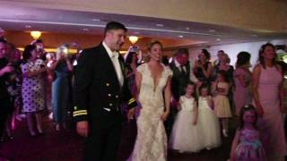 Pipe Band Crash Bride & Groom's First Dance