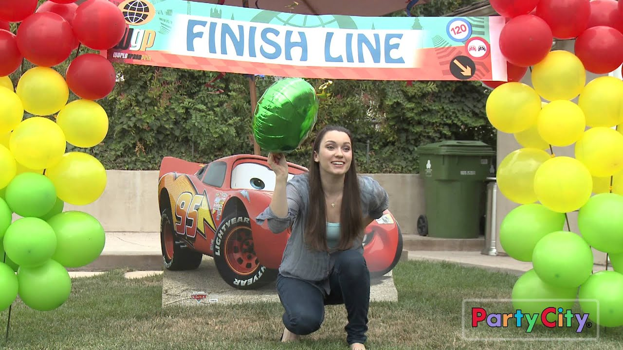 Cars Birthday Party Ideas YouTube