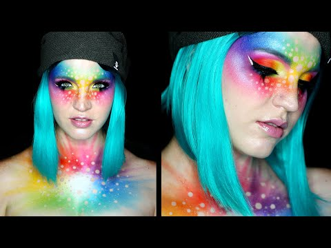 PRIDE RAINBOW | Fantasy Makeup Tutorial