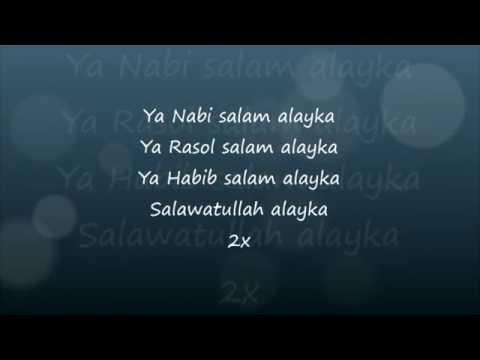 Maher Zain   Ya Nabi Salam Alayka Lyrics