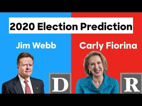 Jim Webb vs Carly Fiorina   2016 Alternative History