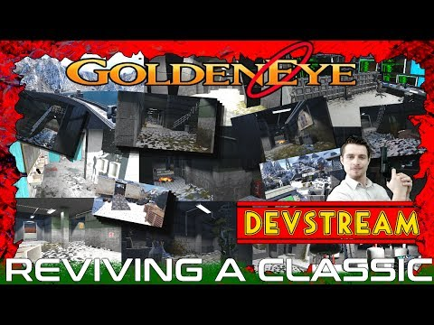 E29 (Clip Clip Bang) Mapping Livestream Development of Goldeneye Zombies: Black Ops 3: Mod Tools