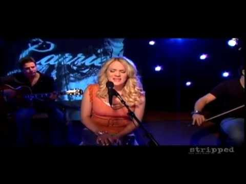 Carrie Underwood - Jesus Take The Wheel - Stripped Music