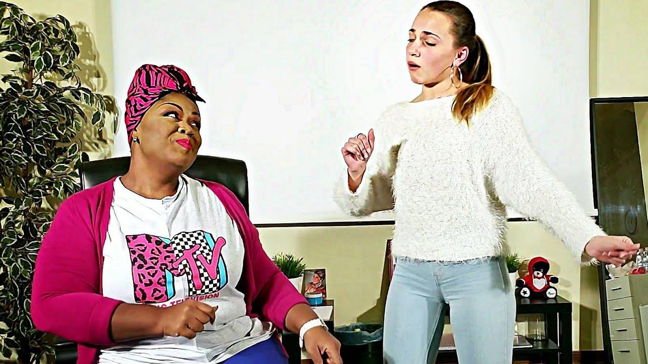GOD IS A WOMAN Ariana Grande - Vocal coach and student (Giuliana)