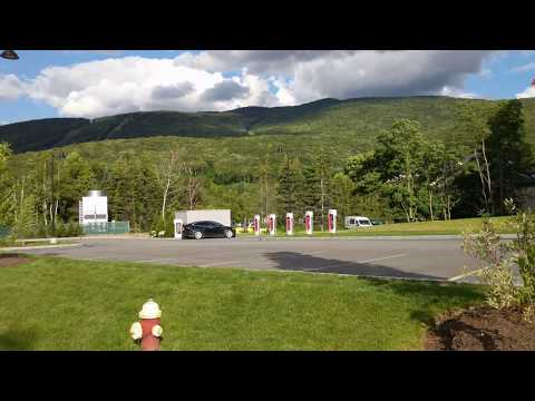 Tesla Supercharger | Lincoln, New Hampshire