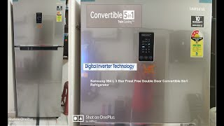 Samsung Frost Free Convertible 5in1 2019 Refrigerator 394 liter RT39K5518S8 TL3Star Unboxing Review