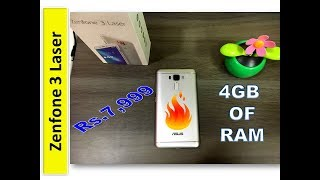 Asus Zenfone 3 Laser Unboxing in India |in Hindi