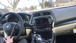 2019 Nissan Maxima Platinum! - Demonstrating one of my favorite feature!