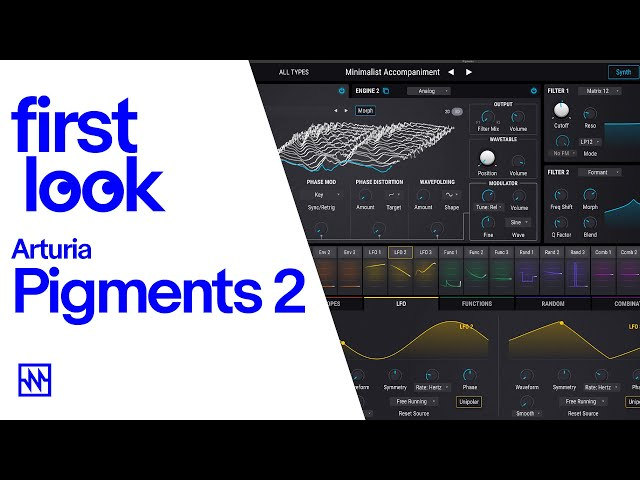 First Look: Arturia Pigments Version 2 with New Sample Engine
