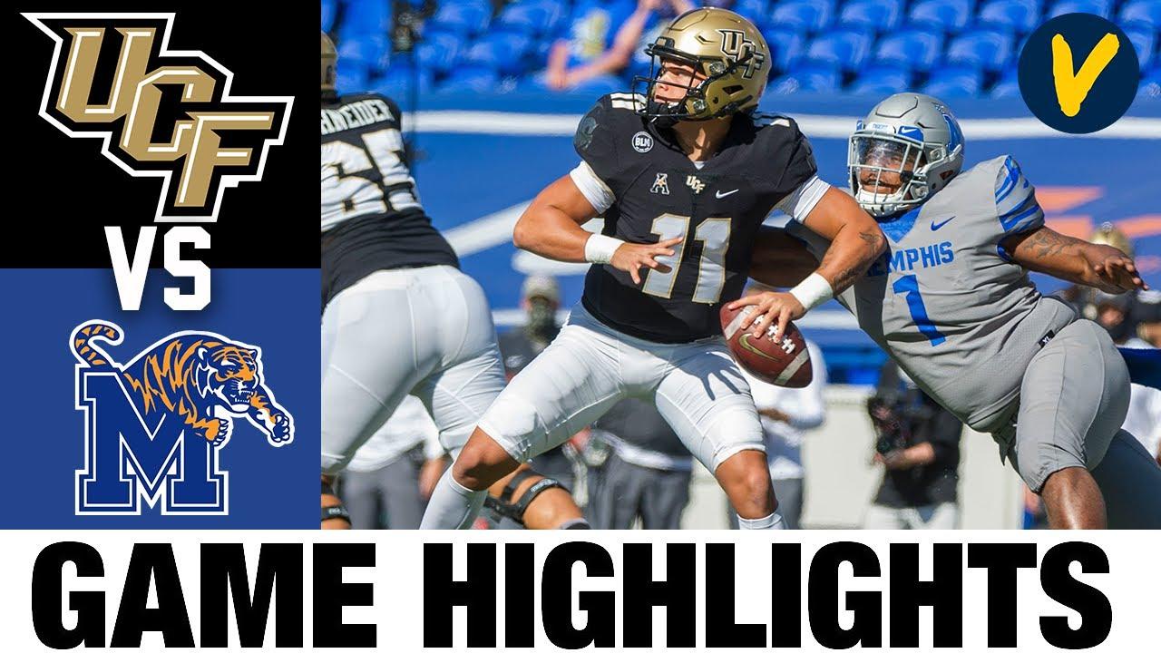 UCF vs Memphis Highlights | Week 7 2020 College Football Highlights