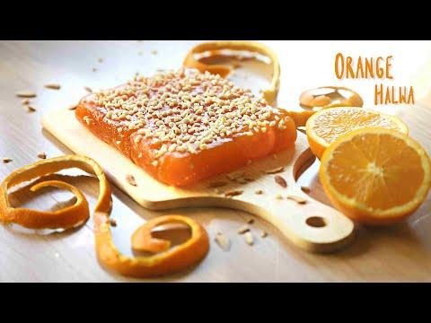 Orange Halwa From Fresh Orange Juice And Orange Zest | Orange Halwa