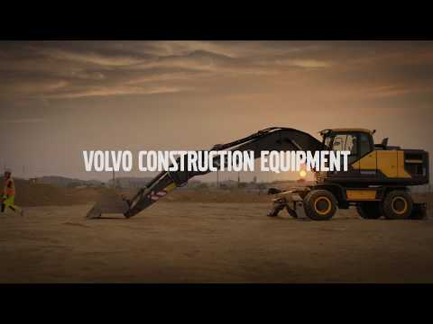 Volvo Ocean Race meets Volvo Construction Equipment 2017  -