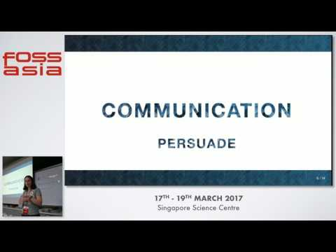 Expectations from Open Source Designers - FOSSASIA 2017