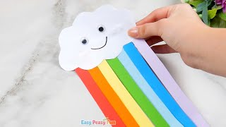 Cute Rainbow Paper Craft for Kids