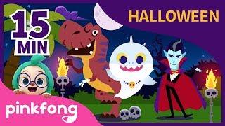 Halloween Jurásico y muchas más | Halloween | +Recopilación | Pinkfong Canciones Infantiles