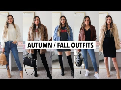 FALL/ AUTUMN OUTFITS 2018   affordable try on haul & outfit ideas