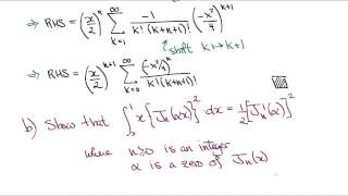 Oxford B5a [Problem set 8, Q1 -- 2012]: Bessel's equation